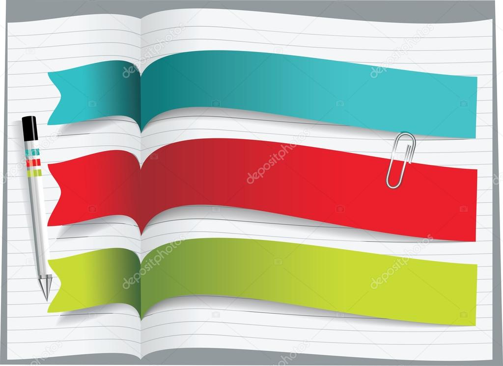 Ribbons and banners design — Stock Vector © Success_ER #16164543