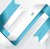 Nowoczesny projekt szablonu .cutout linii — Wektor stockowy