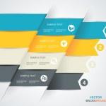 Modern spiral infographics options banner. — Stock Photo