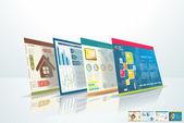 Concept de design web — Photo