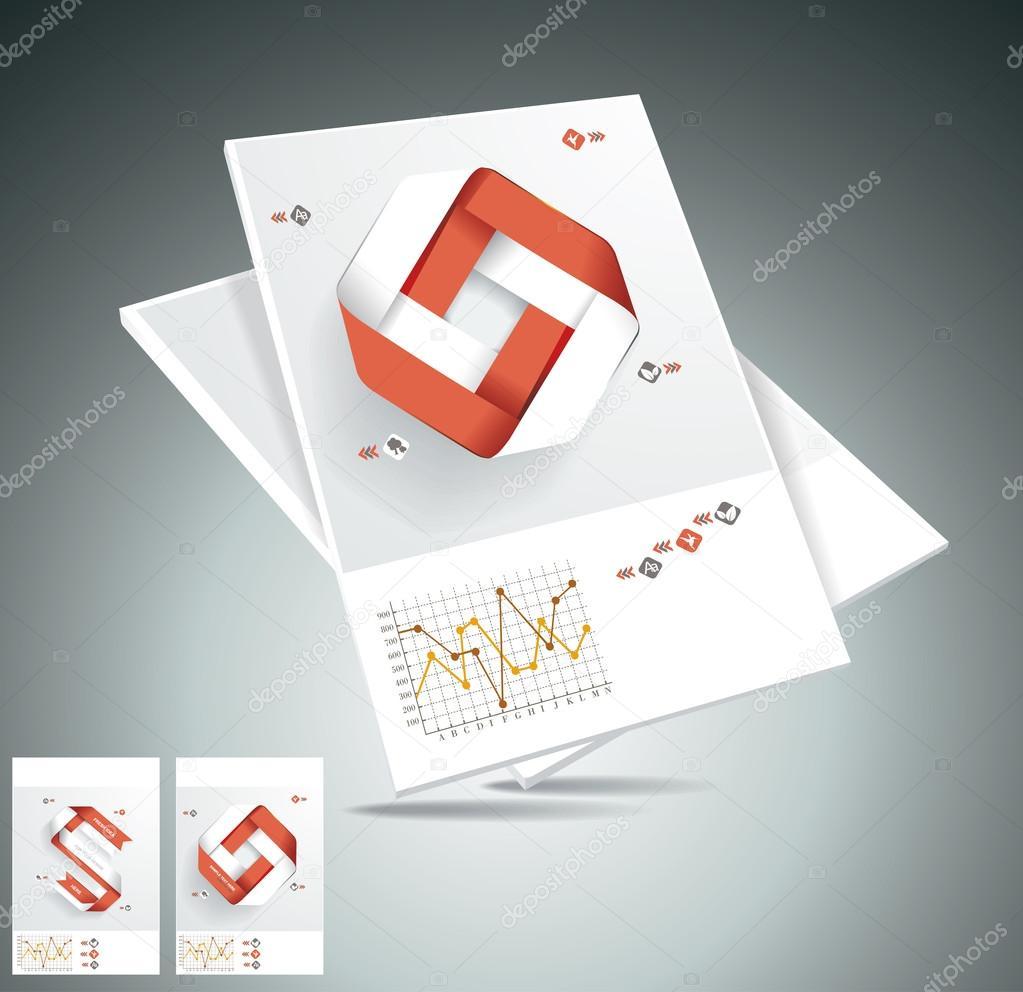 版式设计三角杂志封面分享展示