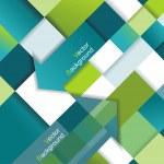 Vector fondo abstracto en 3d — Vector de stock
