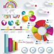 Set elements of infographics — Vettoriale Stock #26532229