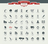 Quality icon Set (Service, Medical, Media, Mail, Mobile, ,Web , — Vettoriale Stock