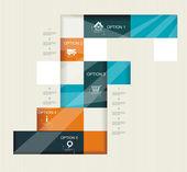 Plantilla de diseño moderno. — Vector de stock