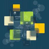 Moderní design šablona. — Stock vektor