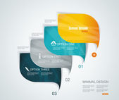 Modern infographics template style. Can be used for workflow lay — Stock Vector