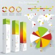 set elements of infographics — Stock Vector #31332073