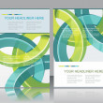 Brochure design element, vector illustartion — Stock Vector #32164545