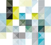 Vektorové ilustrace pozadí abstraktní čtverce — Stock vektor