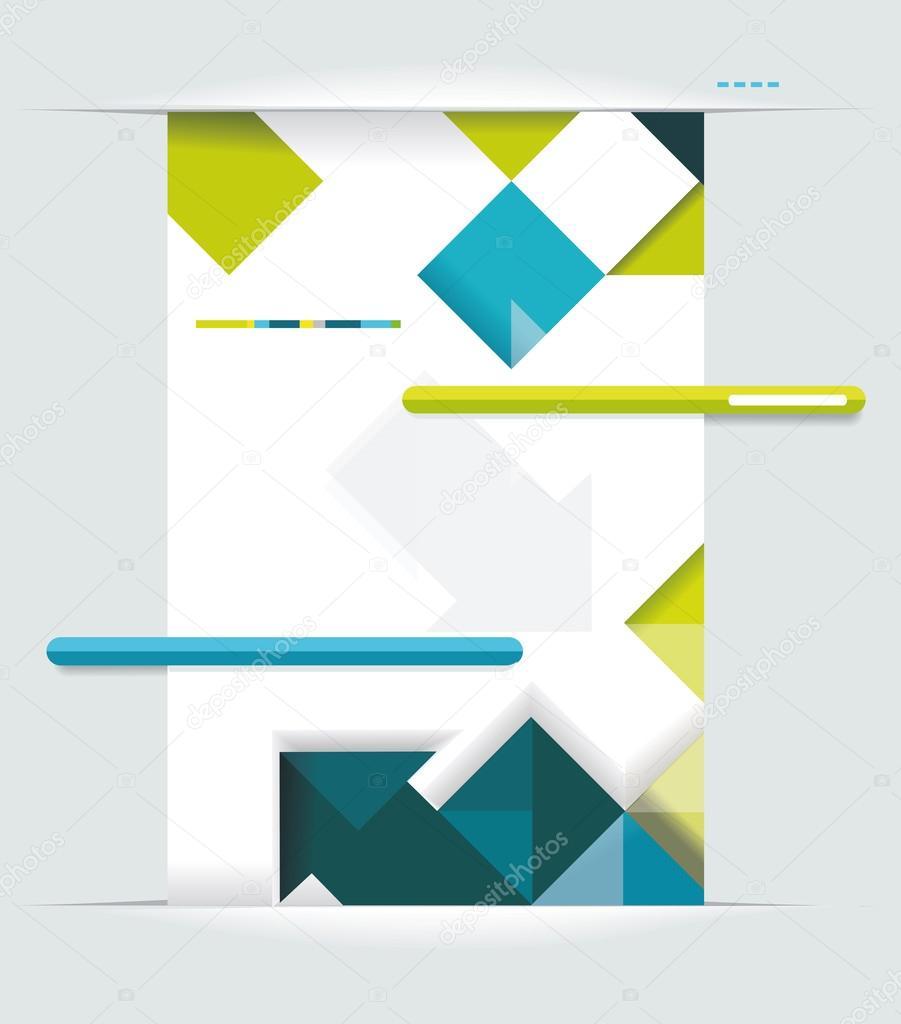 Book Cover Illustration Rates : Modern web design — stock vector success er