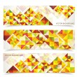 Vector colorful mosaic pattern design — Stock Vector #38114283