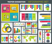 Collection of quality Infographics Design. — Stock Vector