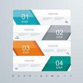 Web tasarım elemanı çerçeve şablon — Stok Vektör