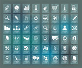 Quality icon Set (Service, Medical, Media, Mail, Mobile, ,Web ,  — Stok Vektör