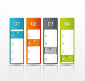 Vector paper tags, labels, banners in the pockets — Cтоковый вектор