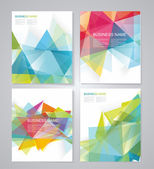 Abstract geometric background for use in design. Vector — Cтоковый вектор