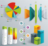 Modern infographics set. Diagram and Time Line design. Vector  — Stockvector