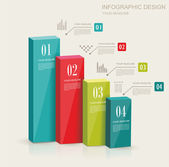 Modern infographics set. Diagram and Time Line design.  — Stockvektor