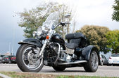 Harley Davidson trike Road King Ultra Classic — Stock Photo