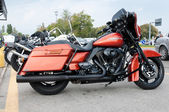 2011 built Harley Davidson Street Glide — Stock Photo