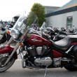 Kawasaki Vulcan900 Classic LT - Stock Photo