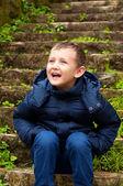 Smiling little boy — Stok fotoğraf