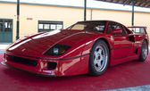 A 1987 built Ferrari F40 — Stock Photo