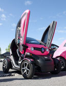 A 2009 built Renault Twizy — Stock Photo