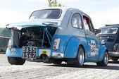 A 1969 built Fiat 500 — Stock Photo