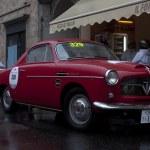 Постер, плакат: Mille miglia 2013 Fiat 1100 a 1955 built