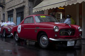 Mille miglia 2013, Fiat 1100 a 1955 built — Stock Photo
