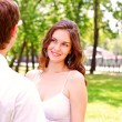 Couple in park — Stock Photo #13479827