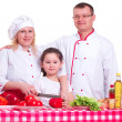 Family cooking — Stock Photo #14867341