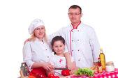 ご家族料理 — ストック写真