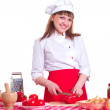 Royalty-Free Stock Photo: Cooking woman