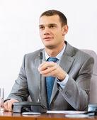Portrait of a businessman — Stock Photo