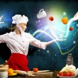 Magic in the kitchen — Stock Photo #18100891
