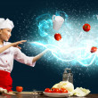 Magic in the kitchen — Stock Photo #18315263