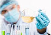 Laboratuarda çalışan bilim adamı — Stok fotoğraf