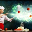 Magic in the kitchen — Stock Photo #18479197
