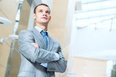 Portrait of a successful businessman — Stock Photo