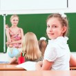 Portrait of the girl in the class — Stock Photo #20254691