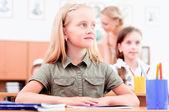 Pupils in classroom — Stockfoto