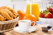 Early breakfast — Stock Photo