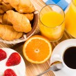 Continental breakfast — Stock Photo #25666427