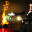 Stock Photo: Magician