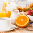 Continental breakfast — Stock Photo #27772369