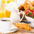 Continental breakfast — Stock Photo #28610217