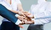 Concepto de trabajo en equipo — Foto de Stock